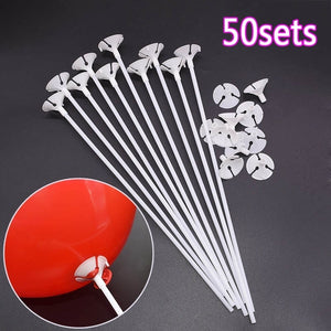 50sets Balloon Pole