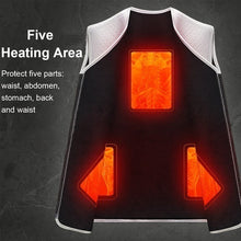 Load image into Gallery viewer, New Men's Smart Winter Electric Heating USB Sleeveless Vest Temperature Control Plus Smart Hot Vest
