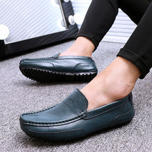 Load image into Gallery viewer, Loafers for Men Flats Slip on Male Loafers Driving Moccasins Homme Men Casual Shoes Fashion Dress Wedding Footwear