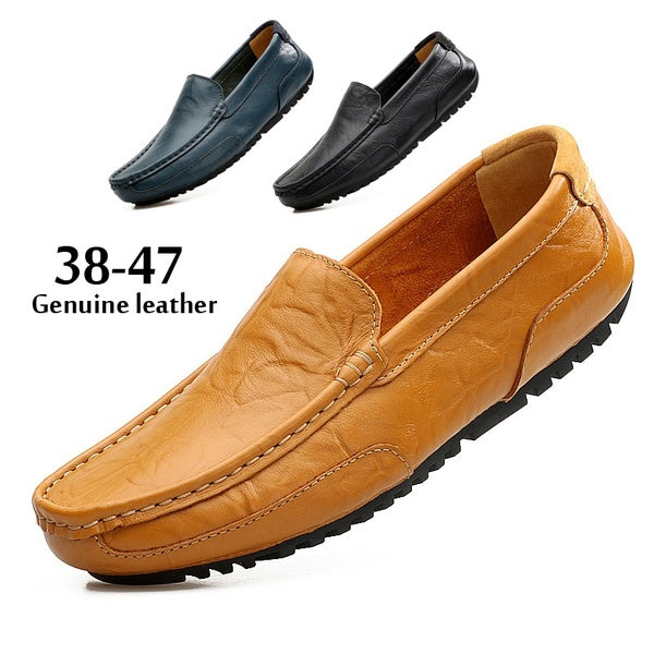 Loafers for Men Flats Slip on Male Loafers Driving Moccasins Homme Men Casual Shoes Fashion Dress Wedding Footwear