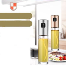 Load image into Gallery viewer, Olive Oil Sprayer Dispenser for Cooking Food-Grade Glass Oil Spray Bottle EIT