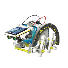 Load image into Gallery viewer, New 14-in-1 Solar Power Transforming Robot Kit Educational Toy
