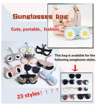 Load image into Gallery viewer, Fashion Cute Funny Sunglasses Box Sunglasses Bag