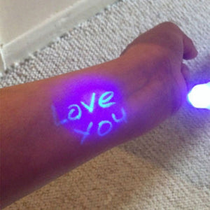 Cute Funny Highlighter Marker Pen Creative Magic UV Light Invisible Ink Pen For Kids Student