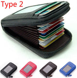 2019 New Fashion Men's/Women's Mini Leather Wallet ID Credit Cards Holder Purse