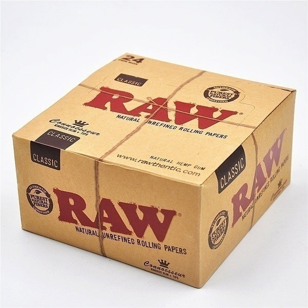 New 64pcs / 128pcs Roll Paper Translucent High Quality Classic Native RAW Paper Cigarette Paper