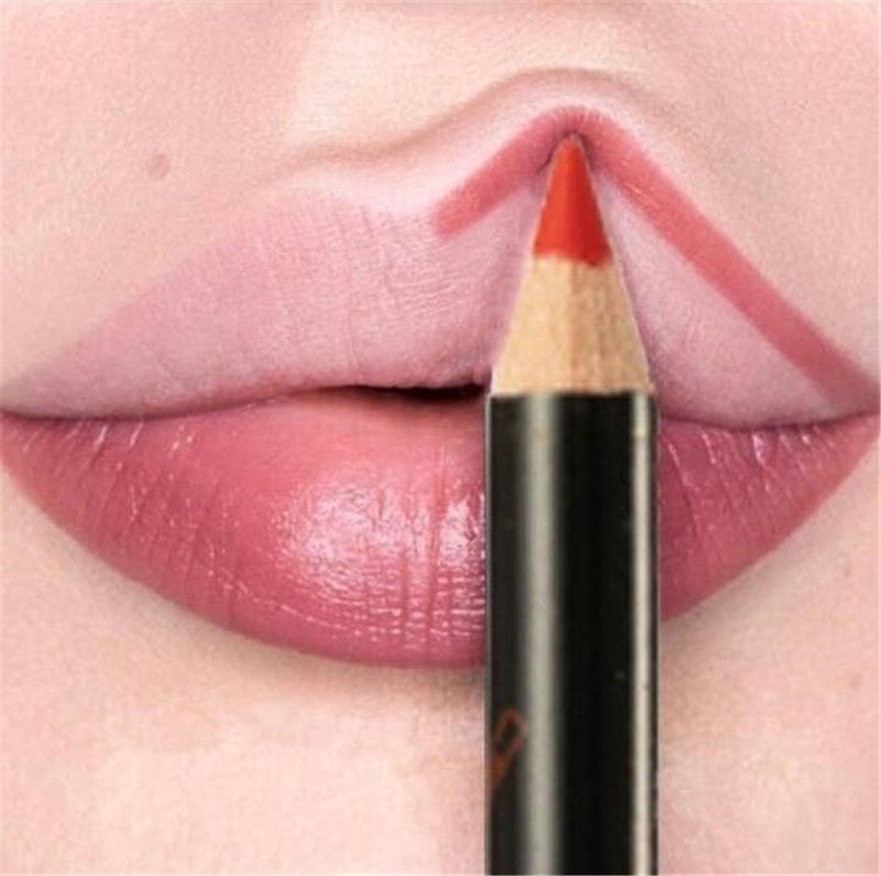 10Pcs/set Lip Liner Set Natural Waterproof Lipliner Long Lasting Nude Cosmetics Makeup Lip Liner