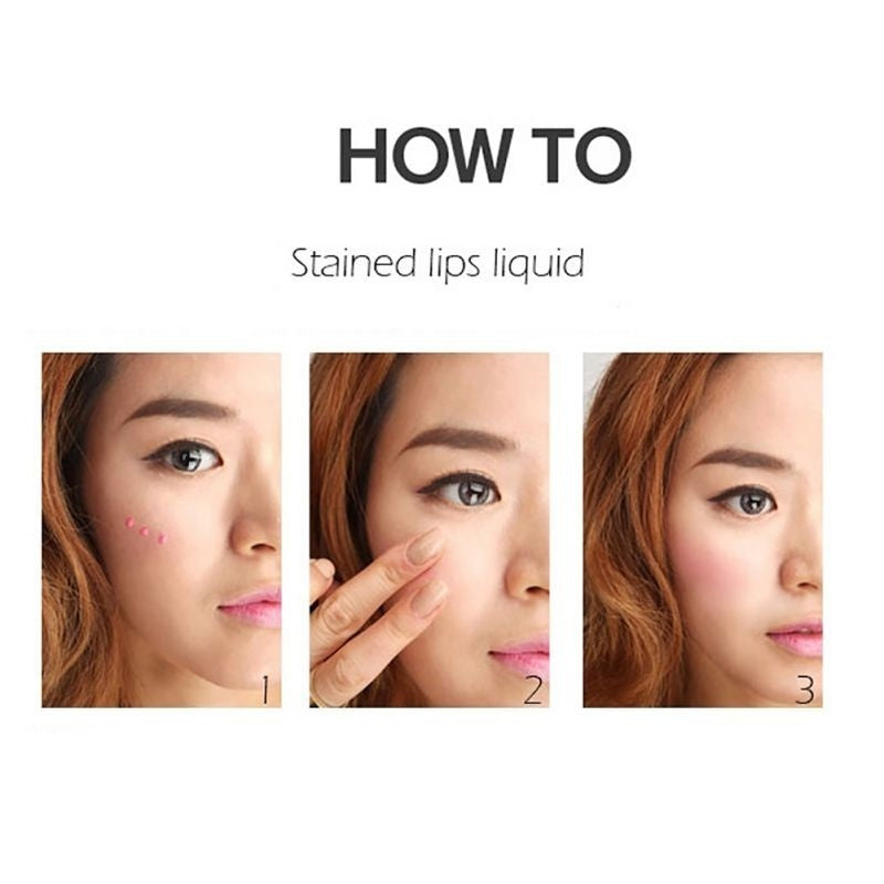 1PC Natural Blush Face Liquid Blush MoisturizingSilky Waterproof Brighten Skin Color Face Long Lasting Blusher 5 Colors