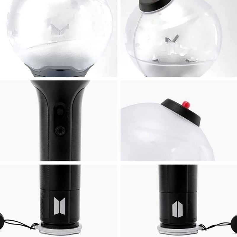 Colorful Kpop Bangtan Boys BTS Official VER 3 Army Bomb Concert Original Light Sticks Bluetooth Function Glow Stick ARMY Fans Collections