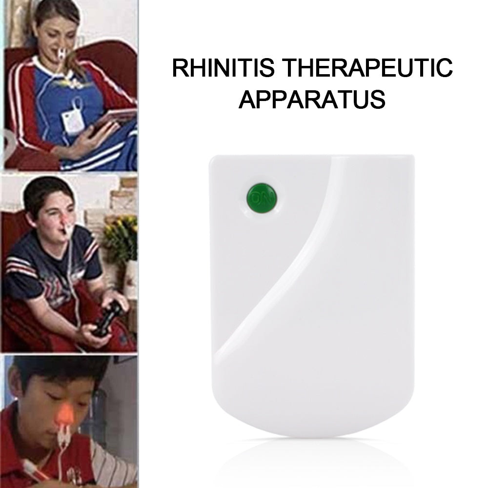 Rhinitis Therapy Device Nasal Allergic Rhinitis Relief Nose Treatment Device Laser Light Therapy