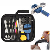 144Pcs New Watch Case Holder Opener Pin Link Remover Spring Bar Repair Tool Kit