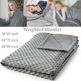 2020 Hot Newest Weighted Blanket Can Decompress Help Sleep and Relieve Anxiety