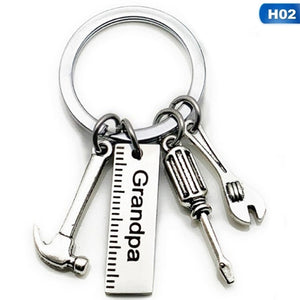 Creative Mini Tools Hammer Screwdriver Wrench Key Chain Father'S Day Gift