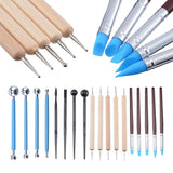 10/18 Pcs Clay Sculpting Carving Pottery Tools Polymer Modeling Diy Sculpture Craft