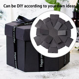 1Pcs Explosion Box Surprise Confession DIY Album Lovers Birthday Valentine's Day DIY Album Photo Holder Display Lover's Album Creative Valentine's Gift