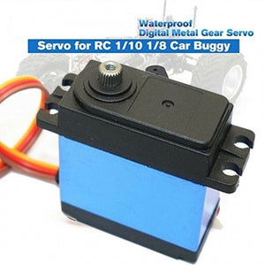 New Big Torque Waterproof Digital Servo Steering Gear For RC Crawler Car 1/10 1/8