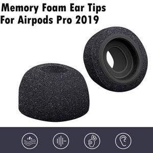 Memory Foam Replacement Ear Tips Buds For Airpods Pro 2019 Earplugs Headphones