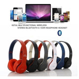 Bluetooth Headset Bluetooth Headphones Stereo Wireless Bluetooth Headset with Mic Support TF SD Card (P47 Pro )