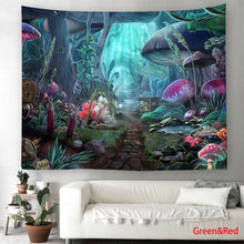Load image into Gallery viewer, 150*130cm/200*150cm Fashion 3d Printed Landscape and Kaleidoscope Tapestry Funny Wall Hanging Tapestry Design Wall Art