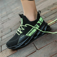 Load image into Gallery viewer, Men's Breathable Flying Weave Running Sneakers Fashion Casual Printing Mesh Outdoor Lightweight Shoes