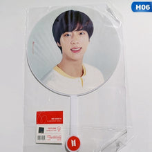 Load image into Gallery viewer, 1Pcs New Kpop Bts Bangtan Boys Photo Transparent Hand Fan Portable Hand Fan