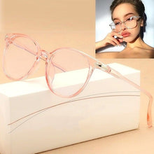 Load image into Gallery viewer, Cat Eye Sunglasses Spectacle Optical Frame Glasses Clear Lens Vintage Anti-Radiation Eyeglasses for Women and Men Glasses Oculos De Grau