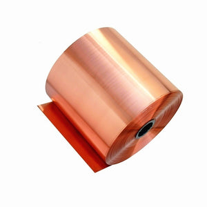 Pure Copper Cu Metal Sheet Tape Foil Plate Material 0.02-0.05mm Thick for Handcraft Aerospace
