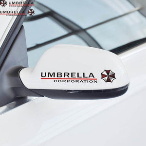 Resident Evil Corporation Umbrella Waterproof Car Stickers Decals Motocycle Laptop Window Sticker Autocollant Mural