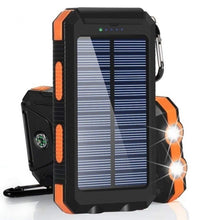 Load image into Gallery viewer, 2021 the Lastest 20000000mAh Solar Waterproof Power Bank With Dual USB SOS LED FlashLights Battery Pack For All Type Phones