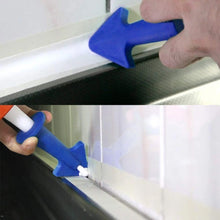Load image into Gallery viewer, 1/3Pcs Silicon Sealant Nozzle Plus Scrapers Sealing Caulking Tools