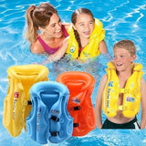 Gaoma Life Vest Jackets Children's Life Saving Vest Inflatable Life Jacket for Drifting Water-skiing