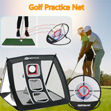 Nylon Golf Chipping Pitching Cage Indoor Outdoor Practice Net Training Aids