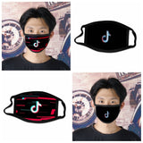 Kids Adult Tik Tok Face Mask Character cotton mask Windproof Protective Mask