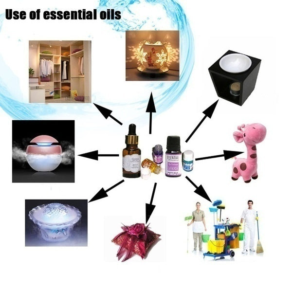 12pcs/24pcs/36pcs Essential Oil Humidifier Water Solution Home/ Hotel Aromatherapy for Relaxing