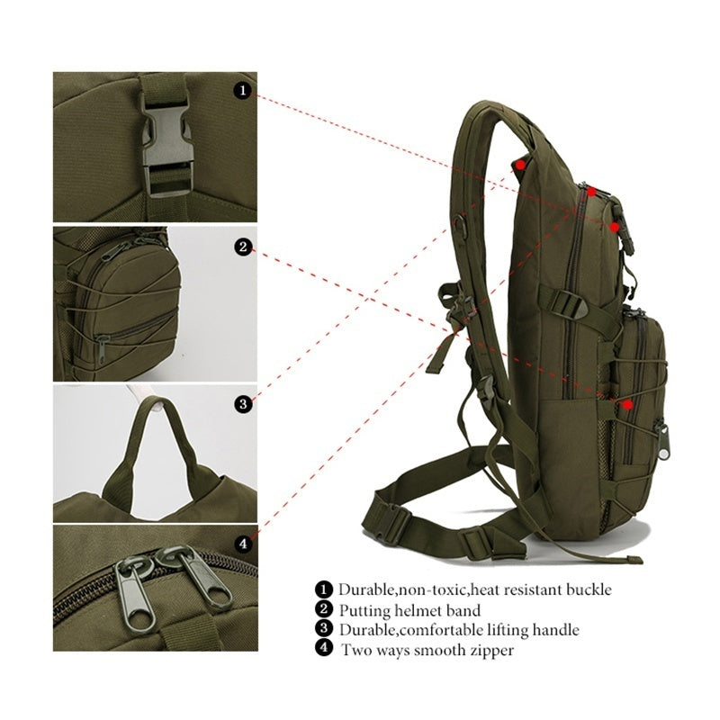 Men Tactical Backpack 800D Oxford Military Backpack Unisex Outdoor Sports Cycling Backpack Travel Climbing Camping Backpack