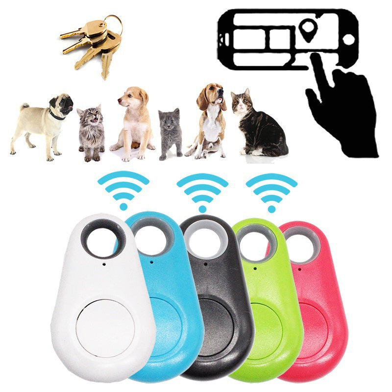 Dog Pets Smart GPS Tracker Anti-lost Alarm Tag Wireless Bluetooth Tracker Child Wallet Bag Key Finder Locator Anti Lost Alarm