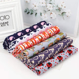 91 Types Calico Sewing Fabric Printed Cloth Textile Cotton Fabric Quilting Fabrics for Patchwork Handmade Sewing Accessories 45*150cm