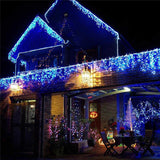 String Light 100/200LED 10M/20M Christmas/Wedding/Party Decoration Lights garland AC 110V 220V outdoor Waterproof led lamp 4 Colors led