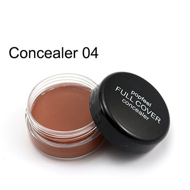 1Pc New Fashion Makeup Beauty Full Coverage Cream Concealing Foundation Flawless Concealer Makeup Smooth Block Defect