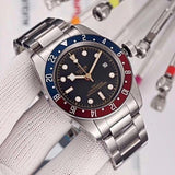 Tu'd'or Brand Watch Mens Military Waterproof Wristwatch Mechanical Automatic Watches