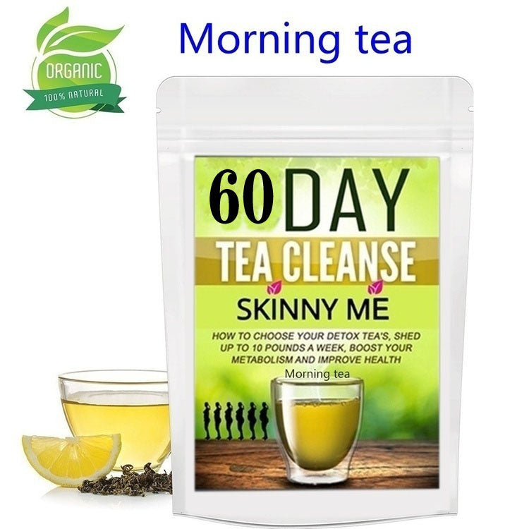 2020 newly developed high-efficiency fat-reducing detox tea detoxifies in the morning and loses weight at night!