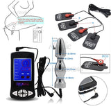 Electric Shock Kit Massage Pad Anal Butt Plug Speculum Electro Sex Medical Themed Toys Electro Shock Sex Toys For Men Women Gay