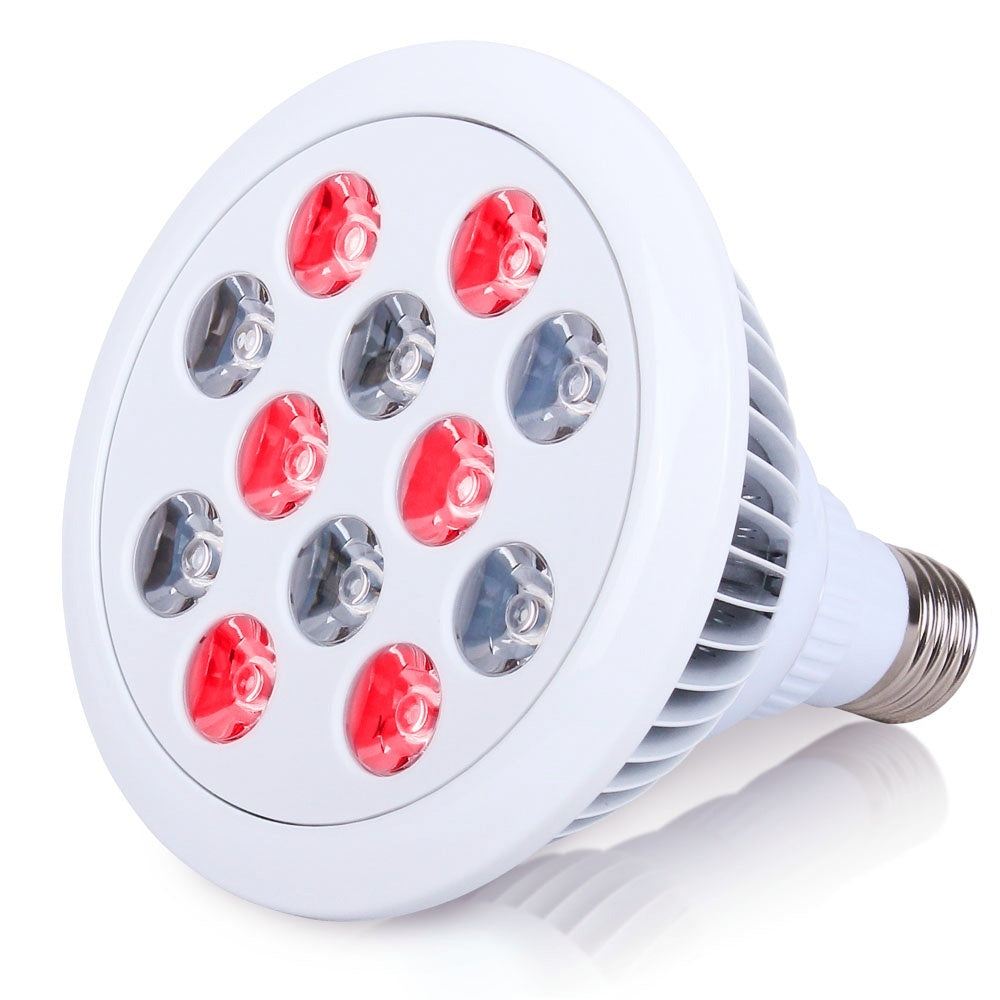 Red Light Infrared Therapy Bulbs 660nm and 880nm Led Lights for Skin and Pain Relief