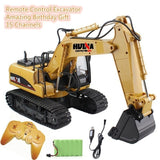 HUINA RC Alloy Excavator RTR With Independent Arms Programming Auto Demonstration Function  BuyList