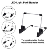 Stand For Light Pad Unique Design For A4 LED Light Pad Board Tablet Of Diamond Painting With 10Pcs Clips