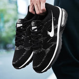 Fashion Breathable Mesh Sports Shoes Air Cushion Outdoor Casual Running Shoes Fashion Sneakers for Men Plus Size 38-45