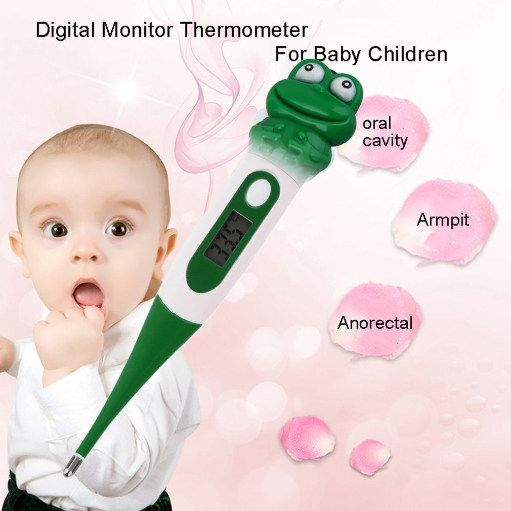 Cute Animals Diagnostic Digital Monitor Thermometer Oxter For Baby Children ht4