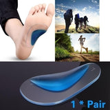 1 pair of corrective insoles, flat foot braces, foot care tools, relieve foot pain