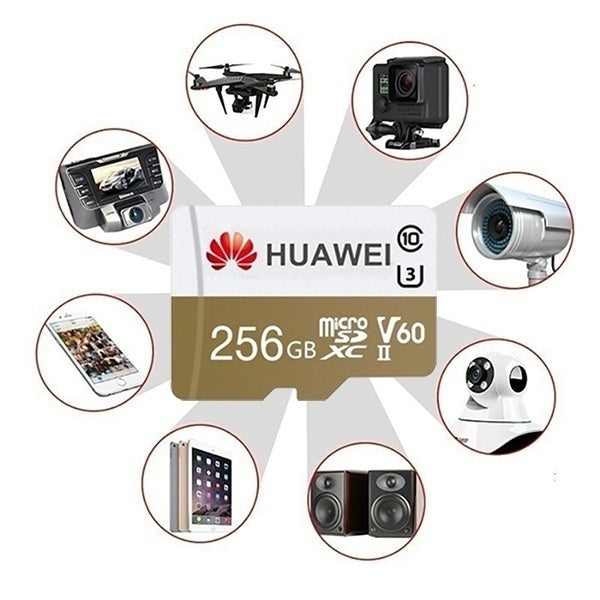 HUAWEI High Speed512GB  256GB 128GB 64GB USB Drive Micro SD Micro SDHC Micro SD SDHC Card Class 10 UHS-3 TF Memory Card + Reader