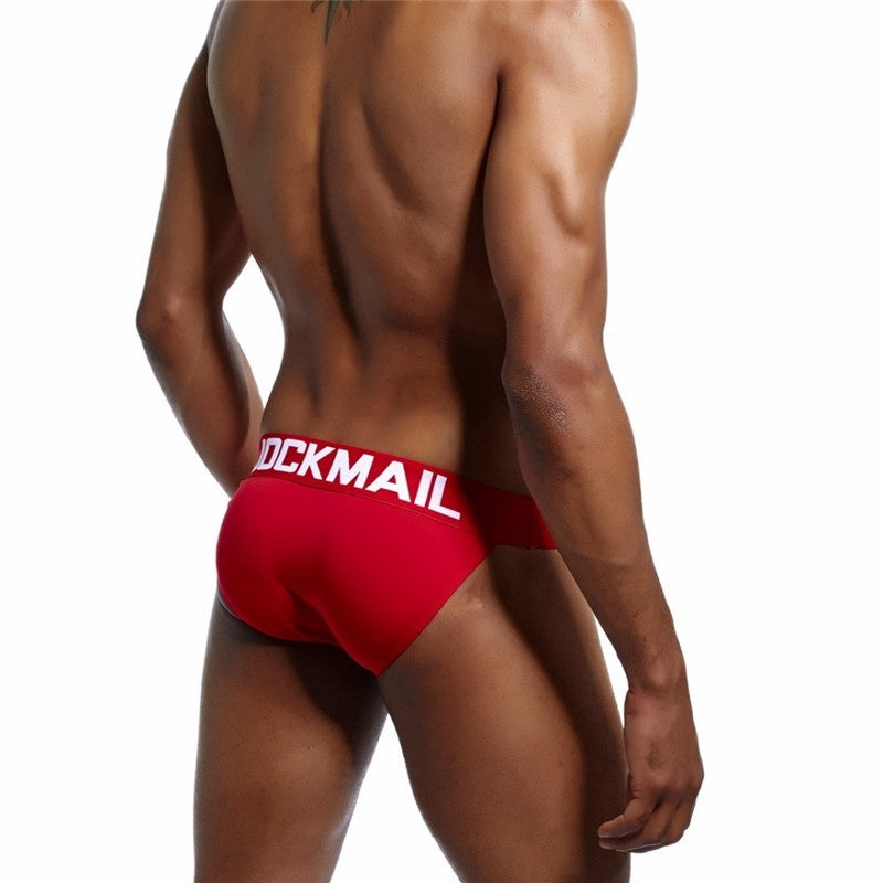 Hot Sell  Men Underwear Comfortable Breathable Jock Straps Cotton Panties Jockmail Brand